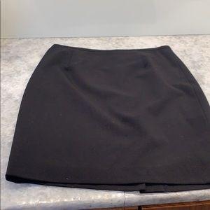Luxurious Calvin Klein Black Fully Lined Miniskirt